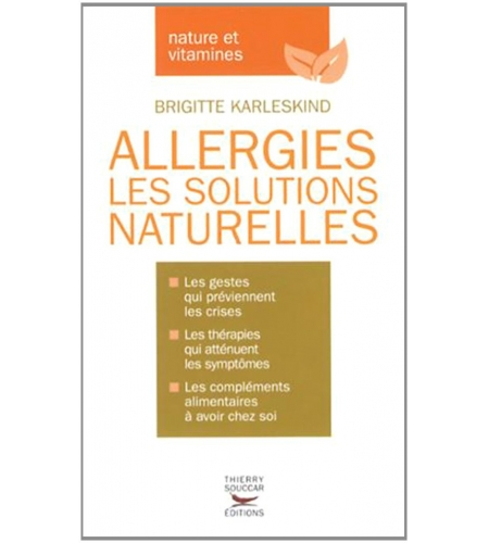 Allergies : les solutions naturelles