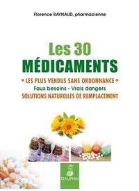 Les 30 médicaments les plus vendus sans ordonnance